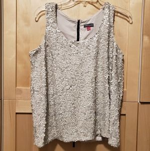 Vince Camuto Squence Grey Top